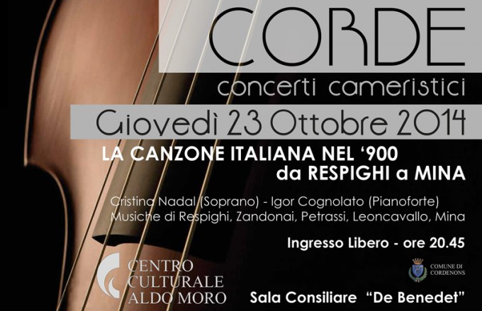 Concerti Cameristici a Cordenons